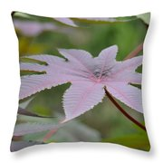 Purple By Nature II Throw Pillow