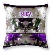 Purple Daze Throw Pillow