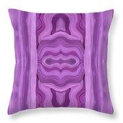 Purple Dreams Pattern Throw Pillow