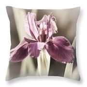 Purple Fairytale Throw Pillow