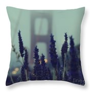 Purple Haze Daze Throw Pillow