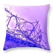 Purple Haze Part 2 Throw Pillow