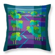 Purple Hill Farms Throw Pillow