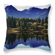 Purple Mountains Majesty Throw Pillow