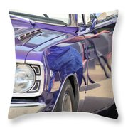 Purple Passion Classic Throw Pillow