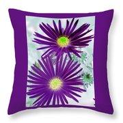 Purple Passion - Photopower 1604 Throw Pillow
