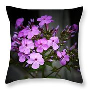 Purple Philox Throw Pillow