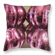 Purple Reflection Throw Pillow
