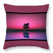 Purple Sky... Throw Pillow