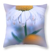 Purple Softness Throw Pillow