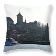 Pursuing The History Throw Pillow
