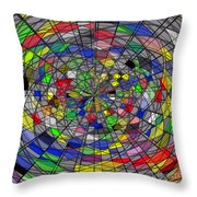 Purview Throw Pillow by ME Kozdron