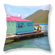 Pussers Bvi Throw Pillow