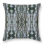 Pussy Willow Design Throw Pillow