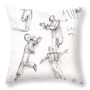 Putting On The Ritz Throw Pillow