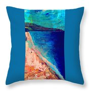 Pv Abstract Throw Pillow
