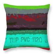 PVC Throw Pillow