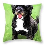 Pw Dog Throw Pillow
