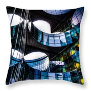 Pwc Building London Throw Pillow