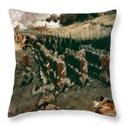 Pyle: Battle Of Bunker Hill Throw Pillow