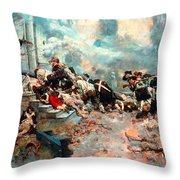 Pyle: Chew House Attack Throw Pillow