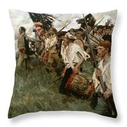 Pyle: Nation Makers, 1906 Throw Pillow