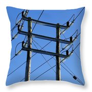 Pylon 21 Throw Pillow