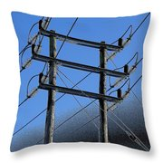 Pylon 21a Throw Pillow
