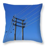 Pylon 23 Throw Pillow