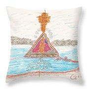 Pyramid Lake - Nevada Throw Pillow