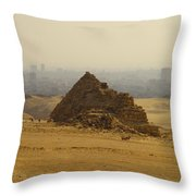Pyramids Of Giza 12 Throw Pillow