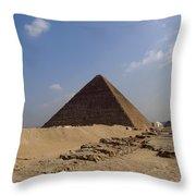 Pyramids Of Giza 30 Throw Pillow