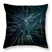 Pyrotechnic Delight Throw Pillow