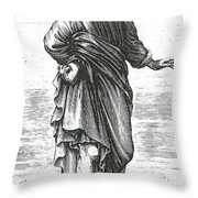 Pyrrho, Ancient Greek Philosopher Throw Pillow