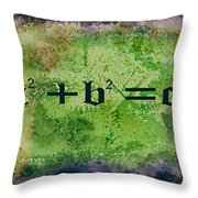 Pythagorean Theorem Throw Pillow