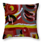 Q Street Throw Pillow