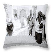 Qarawiyyin Mosque Throw Pillow