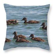 Quackers Throw Pillow