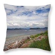 Quadra Island 2 Throw Pillow
