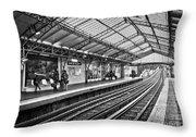 Quai De La Gare Throw Pillow