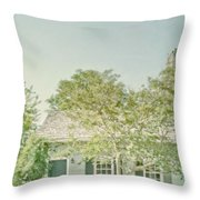 Quaint Home Throw Pillow
