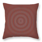 Quakedance Throw Pillow
