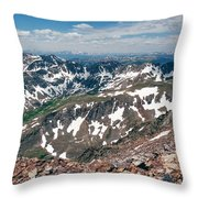 Quandry Peak 14264 Throw Pillow