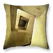 Square Staircase Throw Pillow