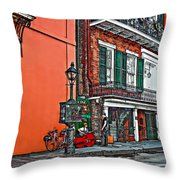 Quarter Time Painted 2 Throw Pillow