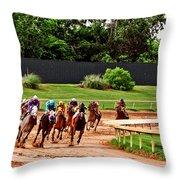 Quarter Turn 1 012md2 Throw Pillow