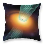 Quasar, Illustration Throw Pillow