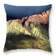 Quebrada De Humahuaca Argentina 3 Throw Pillow