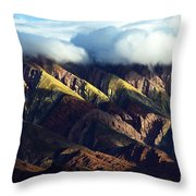 Quebrada De Humahuaca Argentina 4 Throw Pillow