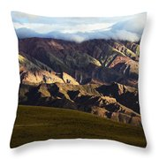 Quebrada De Humahuaca Argentina 5 Throw Pillow